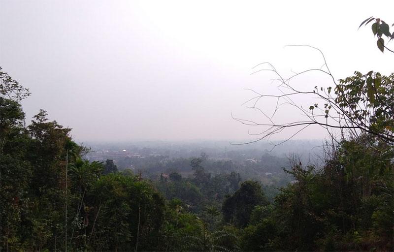 Kabut Asap Mulai Selimuti Bangkinang