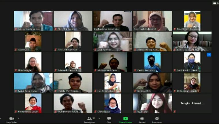KKN-T Mahasiswa IPB di Pekanbaru Fokus Berkontribusi Atasi Covid-19