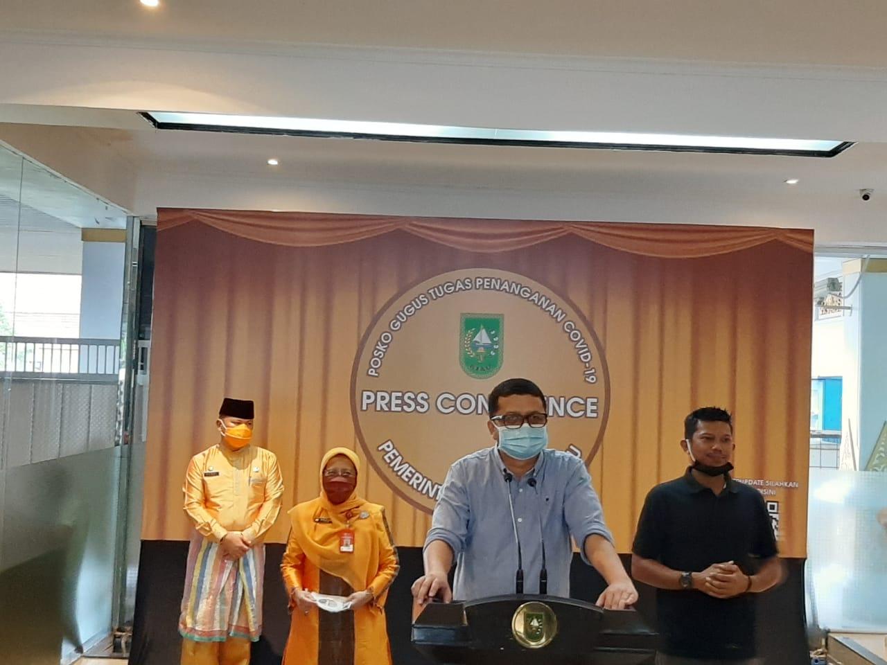 Penambahan 24 Pasien Positif dari 7 Daerah di Riau, Ini Rinciannya