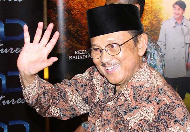Jokowi Beri Predikat B.J. Habibie Bapak Teknologi Indonesia