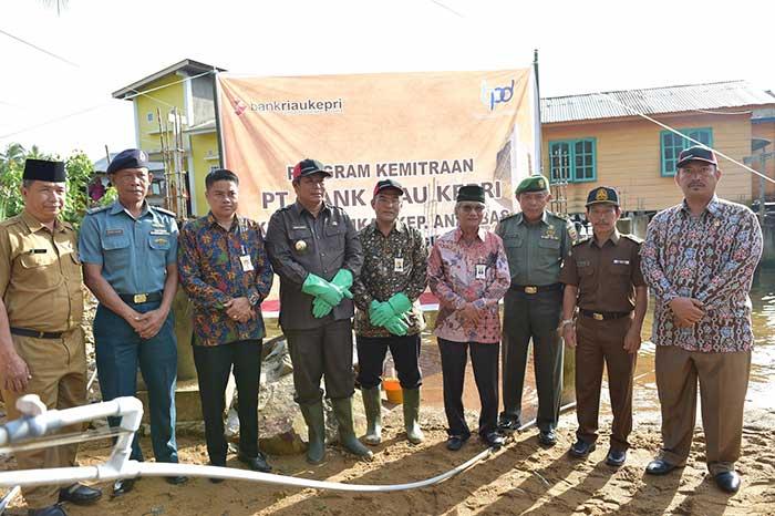 Pemkab Kepulauan Anambas Wujudkan CSR dari Bank Riau Kepri