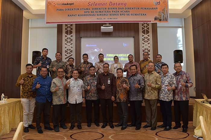 Bank Riau Kepri Koordinir Rapat Koordinasi Bisnis BPD Se-Sumatera