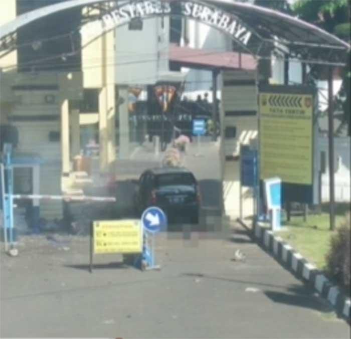 Pagi Ini, Mapolrestabes Surabaya Diguncang Bom