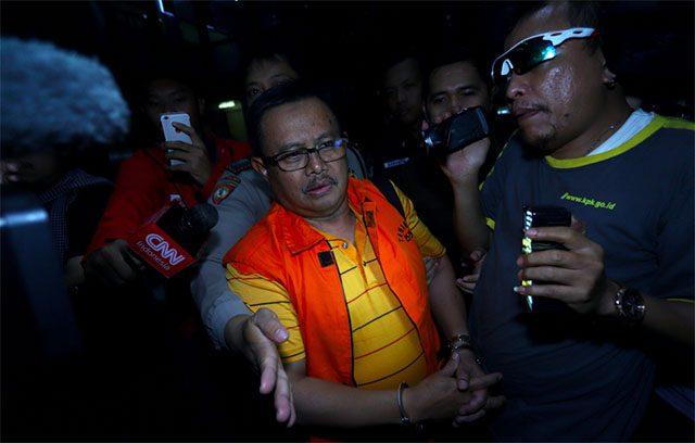 Jam 3 Subuh, Bupati Indramayu Ditahan KPK