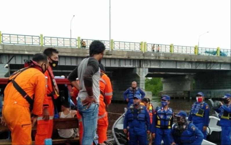 Remaja 14 Tahun Tenggelam di Sungai Dumai Belum Ditemukan