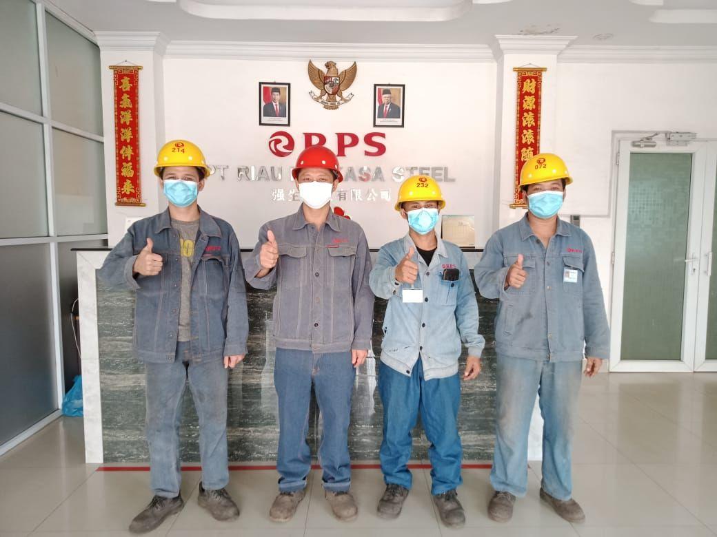 Pabrik Pelebur Baja di Siak Hulu Janji Perkuat Sistem Keselamatan Kerja Cegah Insiden