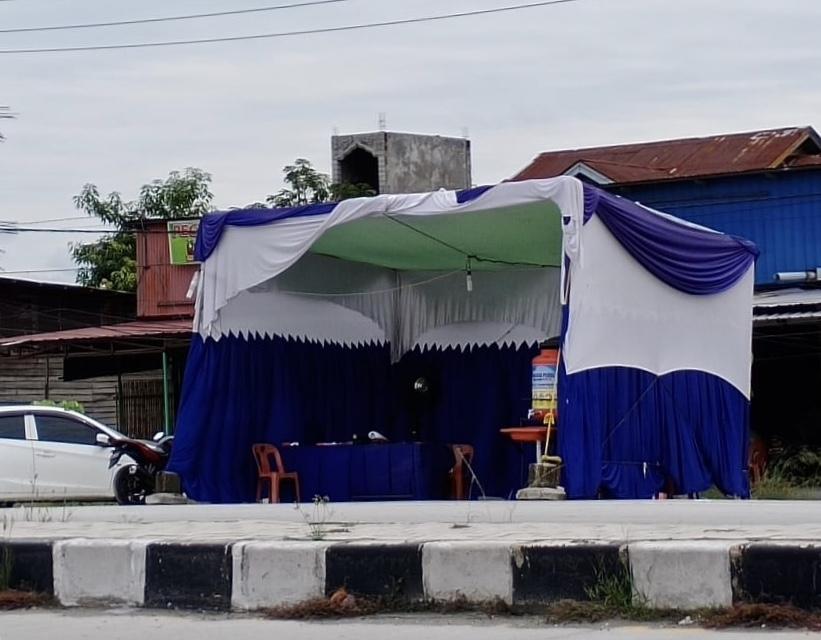 Pintu Masuk Pekanbaru di Panam Longgar, Petugas Tampak Tak Berjaga