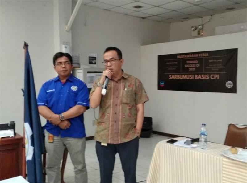 Muhammad Iwan Pimpin Sarbumusi Basis CPI
