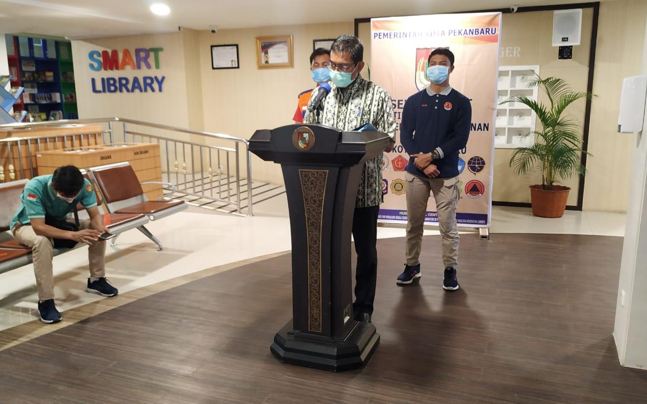 Rekor, 40 dari Penambahan 99 Kasus Positif Corona Warga Pekanbaru