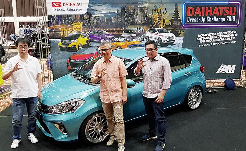 Modifikasi Daihatsu 2019 Berakhir di Jakarta