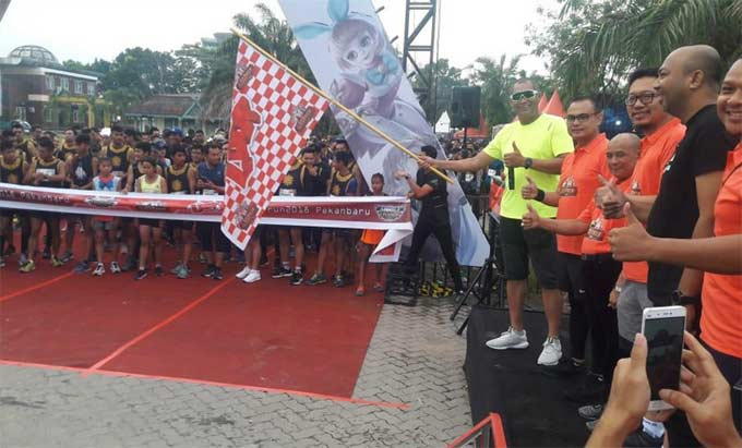 Ribuan Runners Sukseskan I LOOP RUN 2018 di Pekanbaru
