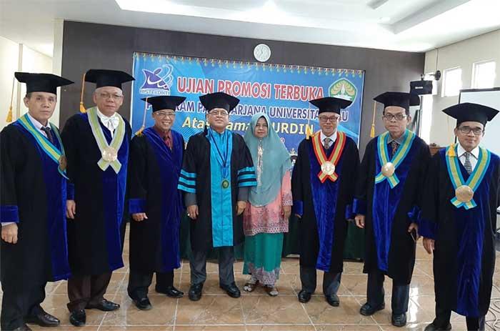 Doktor Nurdin, Lulusan Ke-45 PPs Universitas Riau