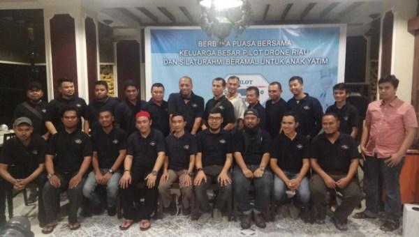 Awie Terpilih jadi Ketua Pilot Drone Riau
