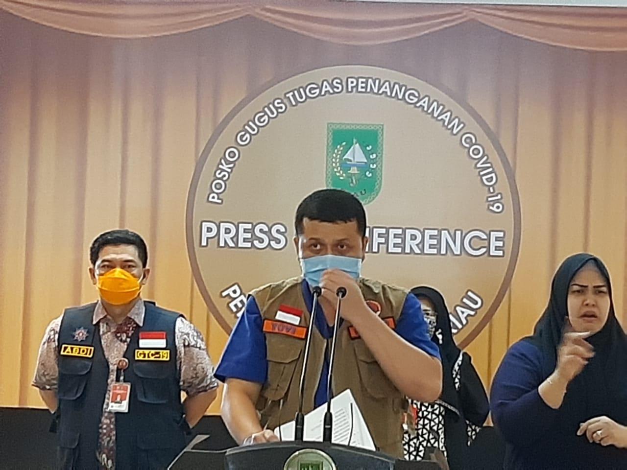 Alhamdulillah, Riau Nihil Positif, Satu Pasien dari Klaster Magetan Kembali Sembuh