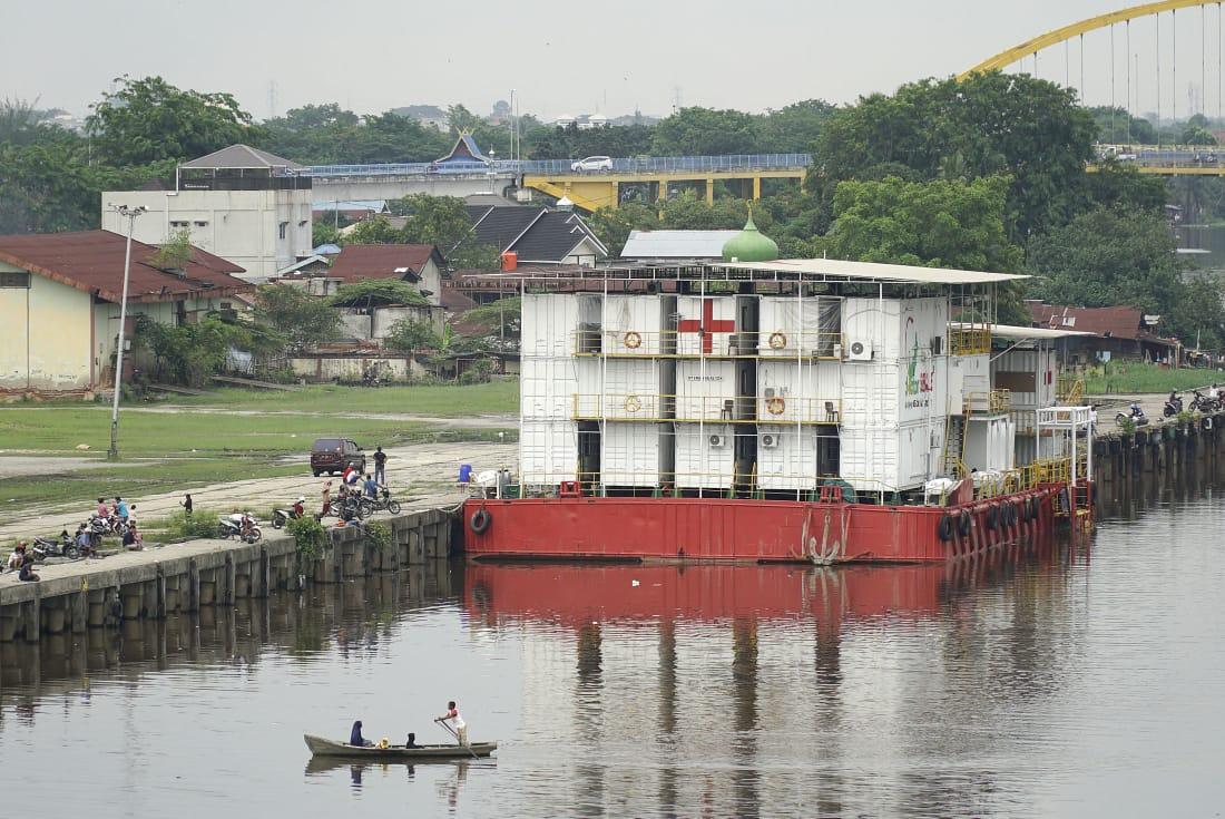 Belum Beroperasi, RSA Nusa Waluya II Jadi Tontonan Warga Pekanbaru