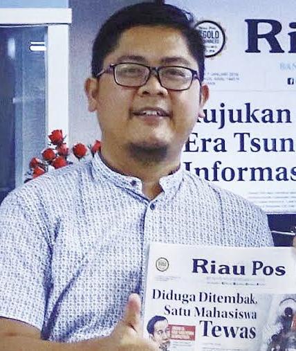 Riau Pos Taja FGD Adaptasi Kebiasaan Baru di Dunia Bisnis