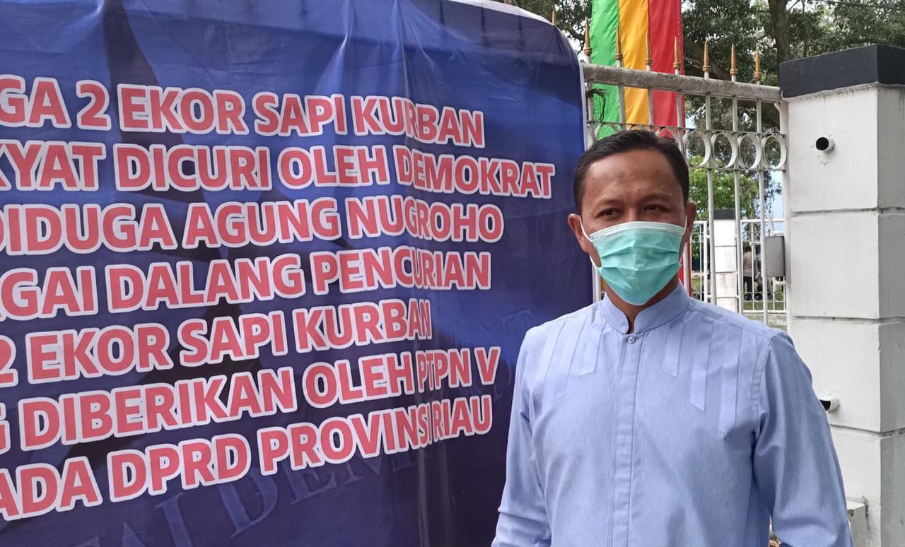 Didemo Soal Sapi Kurban Bantuan PTPN V, Agung: Silakan Tabayyun
