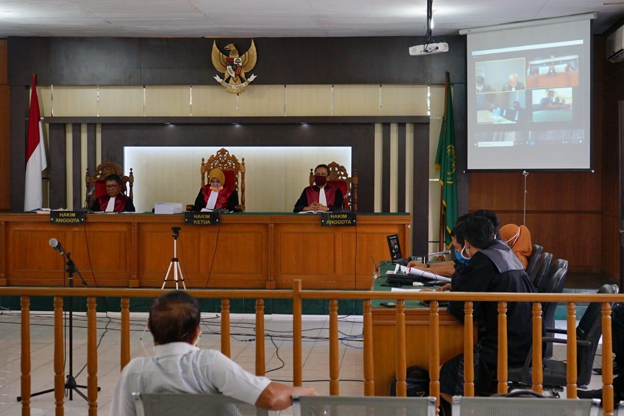 Sidang Perdana Digelar Daring, Amril Mukminin Didakwa Jaksa KPK Terima Gratifikasi Rp23,6 Miliar