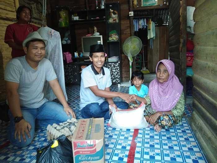 Komunitas GI Rp10 Ribu Salurkan Bantuan Sembako