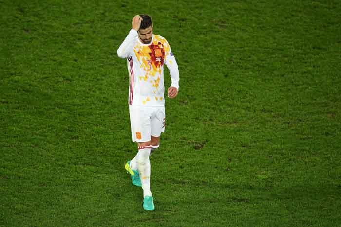 Rumah Kemalingan, Gerard Pique Pecah Konsentrasi di Piala Dunia 2018
