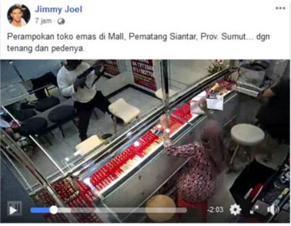Video Perampokan di Malaysia