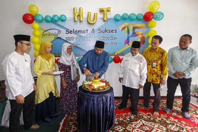 Jamkrida Riau Jamin 17 Ribu UMKM Riau-Kepri Rayakan HUT Ke-15