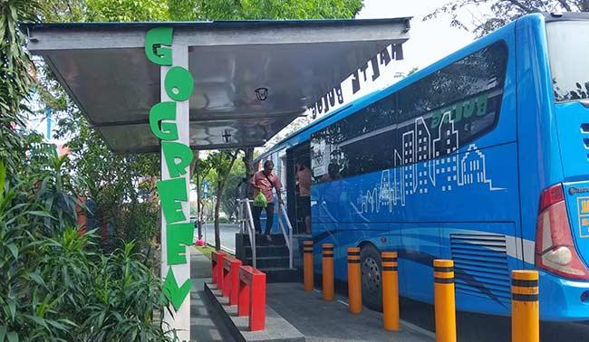 Halte Go Green Menarik bagi Pengguna TMP