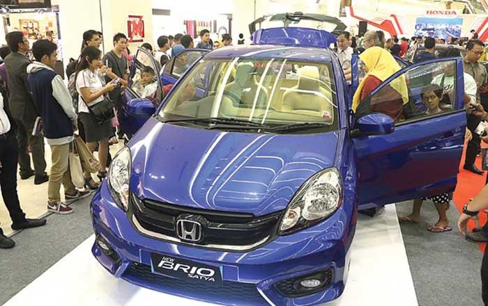 Brio Konsisten Beri Kontribusi Penjualan Honda