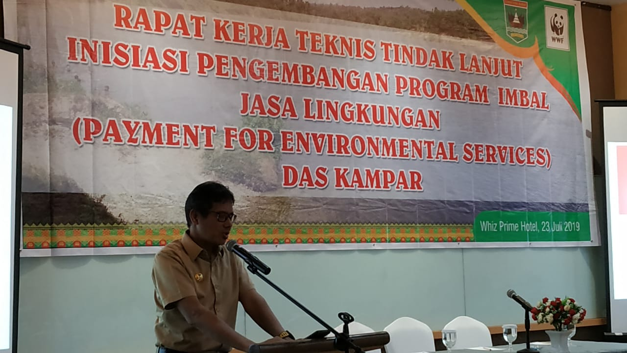Gubernur Sumbar Dukung Program PES di DAS Kampar