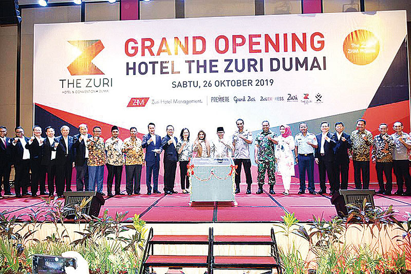 Hotel The Zuri Dumai Resmi Grand Opening
