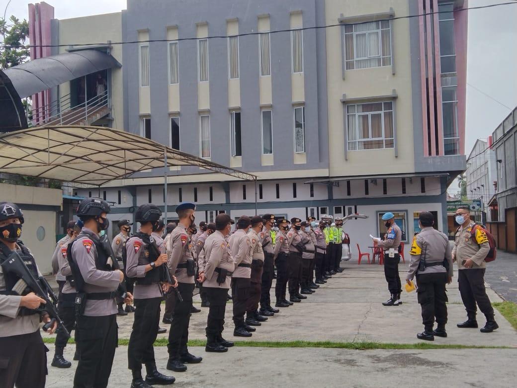 Ratusan Polisi Dikerahkan Amankan Pleno KPU Kepulauan Meranti