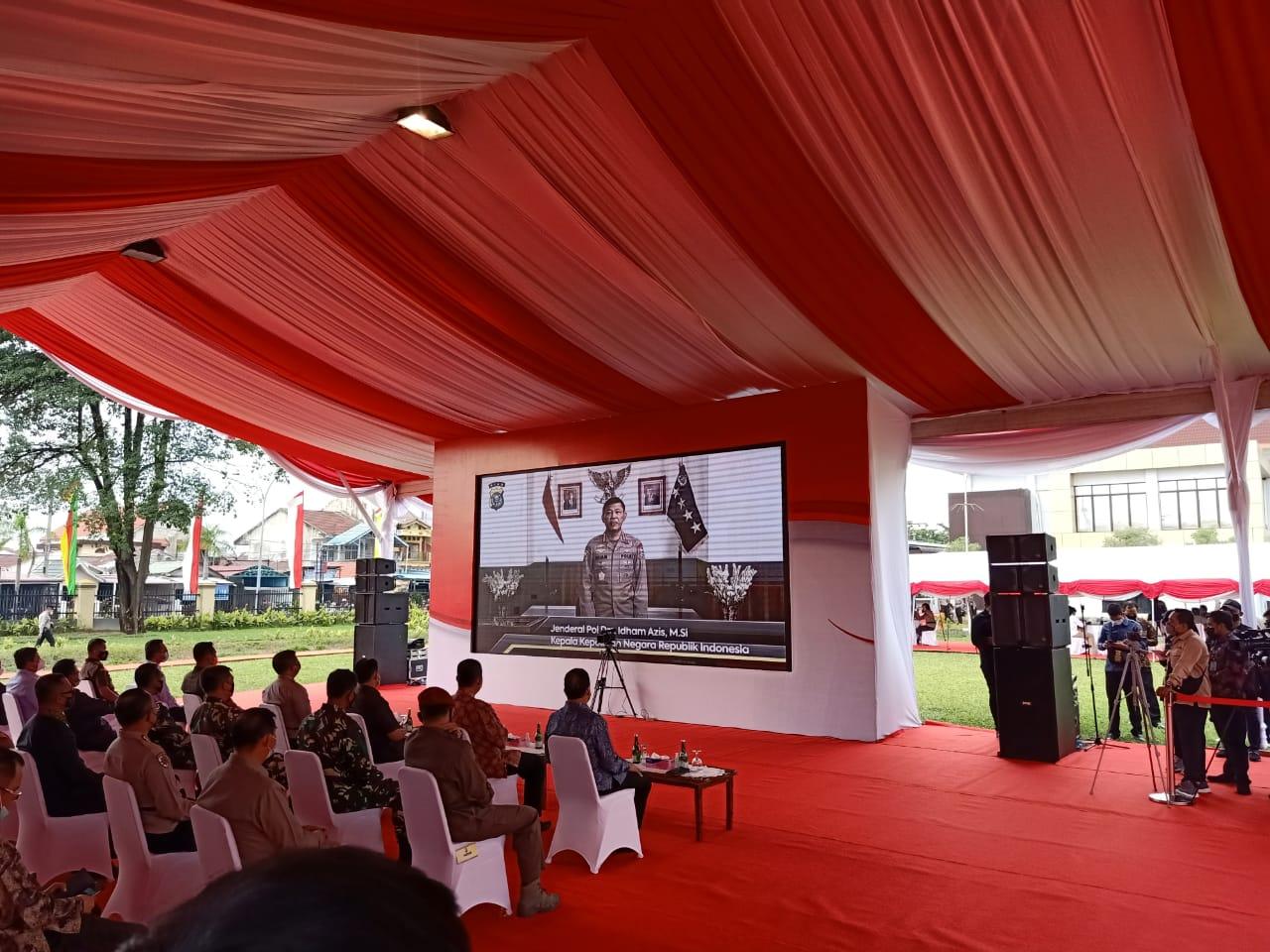 Diresmikan Wakapolri, Gedung Polda Bernuansa Melayu Mulai Beroperasi
