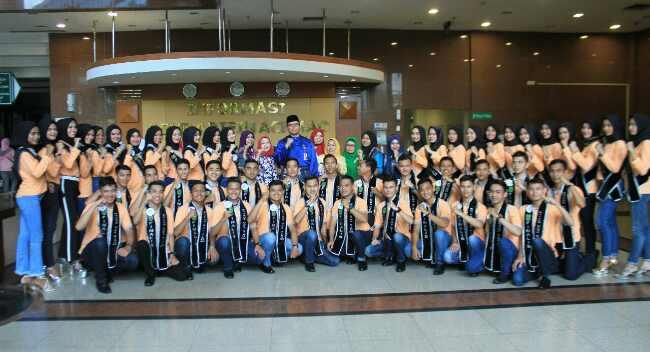Finalis Bujang Dara Riau Kunjungi RSUD AA. Inilah Kegiatannya