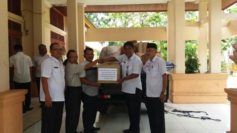 Lagi, Dikpora Bantu Korban Banjir Bandang