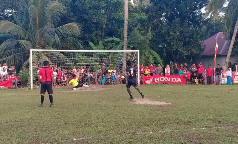 Adu Penalti, Rajawali FC Juara Dikandang Tuan Rumah