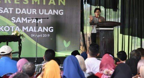 Rubah Sampah Bernilai Ekonomi, KLHK Resmikan PDU Sampah Di Malang