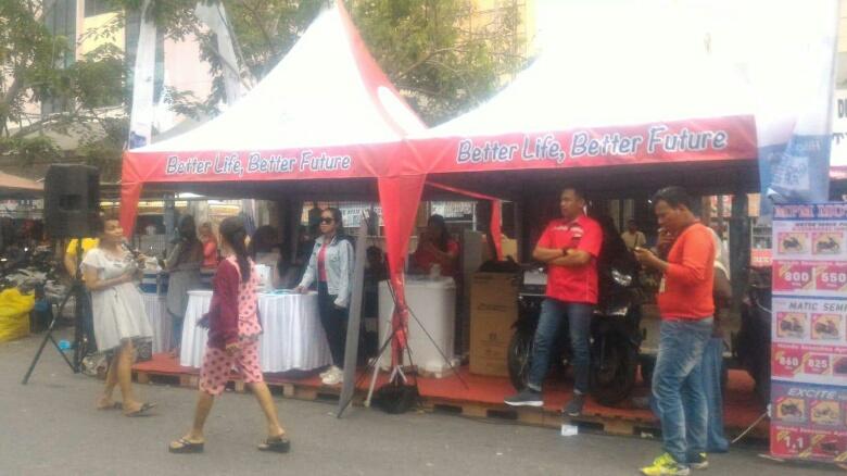 FIF Group Grebeg Pekanbaru Sambangi Tiga Pasar Tradisional