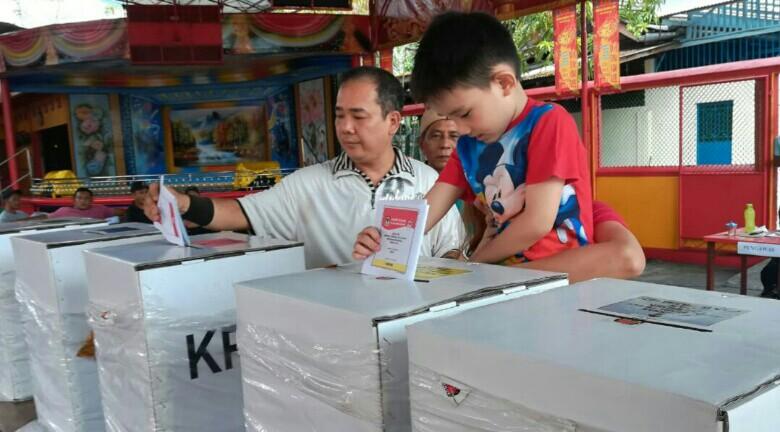 Jokowi Unggul PSU Empat TPS Di Meranti