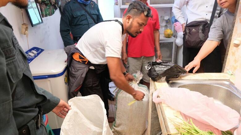 Tim Gakkum KLHK Berhasil Ungkap Perdagangan Trenggiling