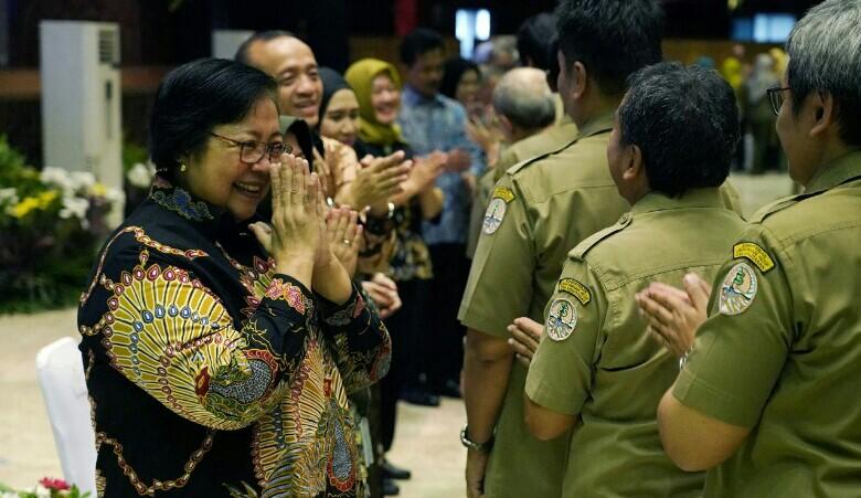 Menteri Siti Minta Seluruh Jajarannya Selesaikan Tugas dan Tanggungjawabnya Bulan Depan