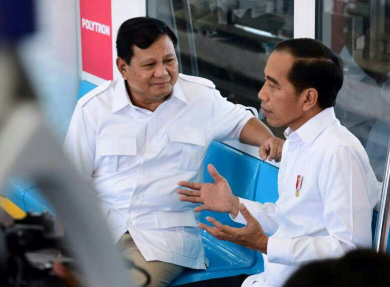 "Bertemu Prabowo, Presiden Jokowi: Tidak Ada Lagi ""Cebong""  dan ""Kampret"""