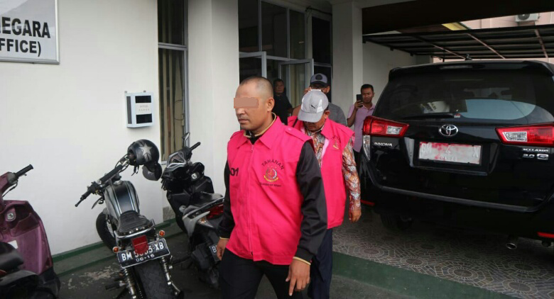 Terseret Kasus Korupsi, Dua ASN Dishub Meranti Ditahan Jaksa