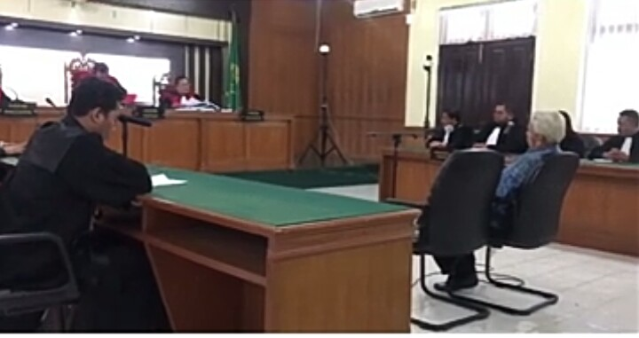 Mantan Sekda Dumai Divonis 7 Tahun Penjara