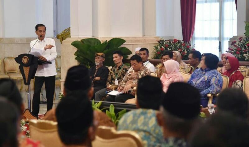 Presiden Jokowi Tegaskan Komitmen Pemerintah Selesaikan Perhutanan Sosial dan Reforma Agraria