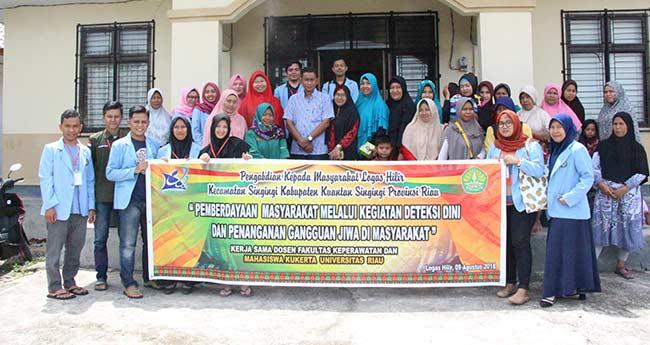 Tim KUKERTA Desa Logas Hilir 2018 Universitas Riau