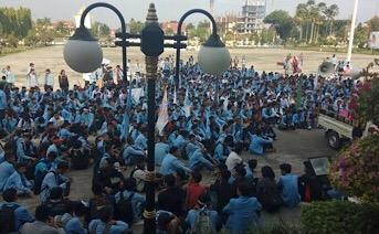 Lahan Kampus Dipalang, Mahasiswa Unri Meradang