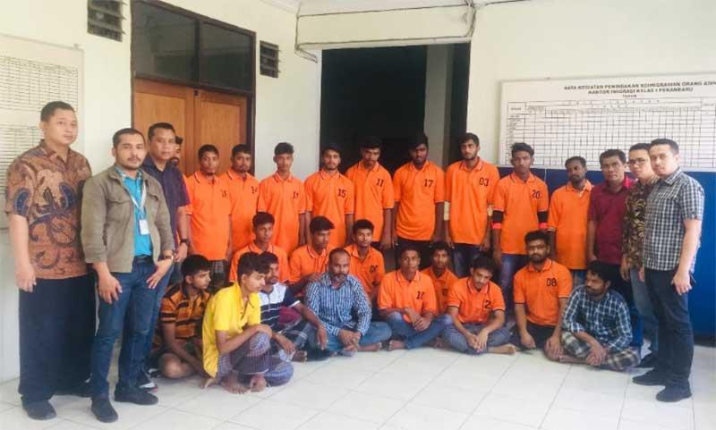 29 Imigran Bangladesh Diamankan di Payung Sekaki