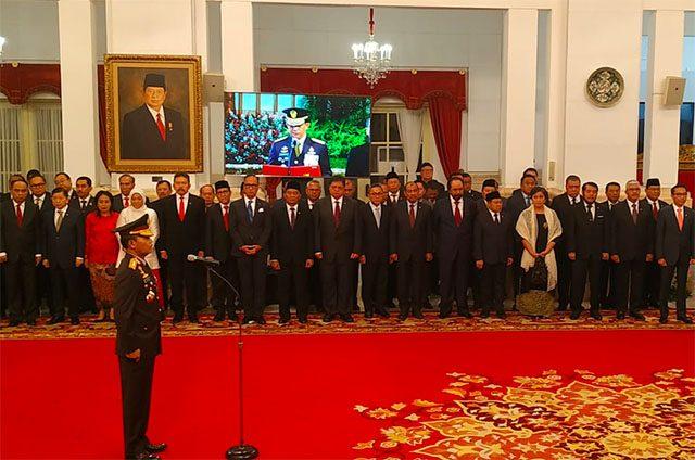 Jokowi Resmi Lantik Idham Aziz Sebagai Kapolri