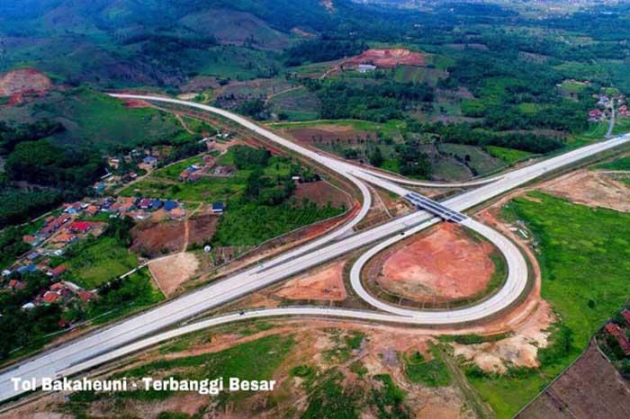 Pertengahan 2019 Ruas Jalan Tol di Sumatera Ini Siap Dipakai
