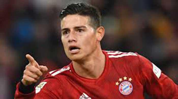 James Rodriguez Gabung ke Liverpool dengan Nilai Rp700 Miliar
